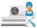 Установка кондиционера мощностью охлаждения до 6,0 кВт