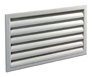 Решетка наружная алюминиевая РН 400х150