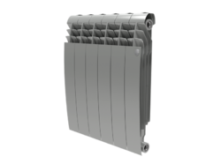 Радиатор Royal Thermo BiLiner 500/Silver Satin - 4 секц.